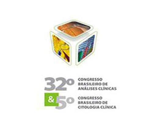 32º Congresso Brasileiro de  Análises Clínicas e 5º Congresso Brasileiro de Citologia Clínica